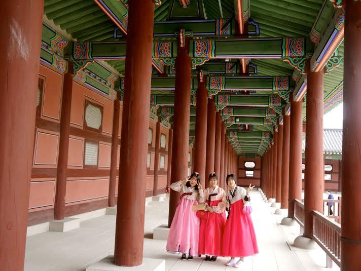 Three Women in South Korea